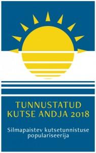 Kutsekoja kvaliteedimärk 2018-1
