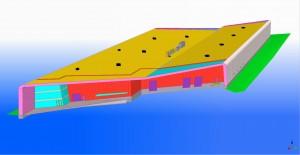 EstPakPlastik lao- ja tootmishoone 3D mudel